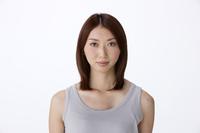 20代女性の顔