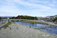 京都,鴨川の上流