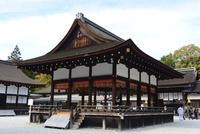 京都,下賀茂神社舞殿