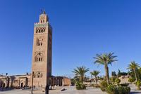世界遺産マラケシュ旧市街クトゥビアの塔