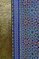 世界遺産フェズ旧市街王宮の黄金扉