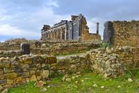 世界遺産ヴォルビリス古代遺跡