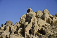 ギョレメ野外博物館の奇岩群
