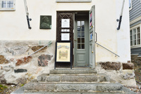 ホルム・ハウス 旧豪商の屋敷を利用した博物館の入口