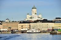 ヘルシンキ大聖堂と街並み
