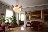 フィンランド国歌を作詞したルーネベリの家の室内