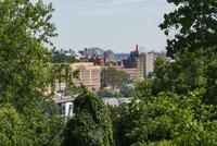 アッパーイースト マンハッタンからのブロンクス街並み 10266001702| 写真素材・ストックフォト・画像・イラスト素材|アマナイメージズ