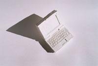 ノートブックパソコンのオブジェ