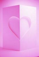 ハートイメージ ピンク クラフト