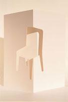 椅子イメージ 白 クラフト