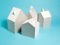 密集した家 10268000362| 写真素材・ストックフォト・画像・イラスト素材|アマナイメージズ