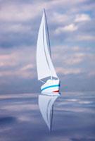 ヨットと空 10268000381| 写真素材・ストックフォト・画像・イラスト素材|アマナイメージズ