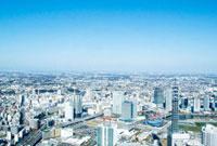 横浜市全景 10268000552| 写真素材・ストックフォト・画像・イラスト素材|アマナイメージズ