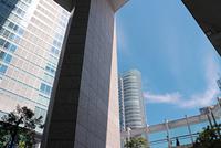 秋葉原再開発地区の高層ビル群の街