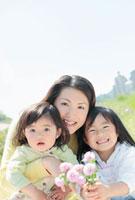 母親と2人の娘