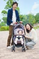 日本人の3人家族