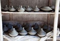 モロッコの陶器 タジン鍋