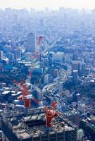 ビル建設と東京の街並