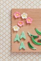 松竹梅の和菓子 10285001256| 写真素材・ストックフォト・画像・イラスト素材|アマナイメージズ