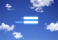 青空に浮かぶIDとパスワード