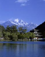 玉龍雪山と黒龍潭公園