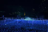 東京ミッドタウンのイルミネーション