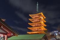 浅草寺,五重塔