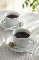 湯気のたつコーヒー
