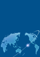世界地図と光のライン 10319000068| 写真素材・ストックフォト・画像・イラスト素材|アマナイメージズ