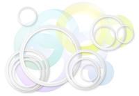 円の波紋イメージ