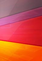 重なる色彩の面のイメージ