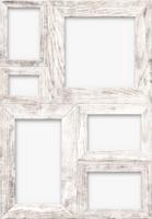 白木の組フレーム