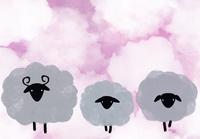 羊の親子 10319000217| 写真素材・ストックフォト・画像・イラスト素材|アマナイメージズ