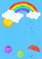 虹と雨と傘