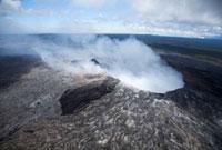 ハワイ島のプウオオ火口 10322000200| 写真素材・ストックフォト・画像・イラスト素材|アマナイメージズ