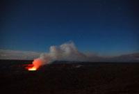 ハワイ島キラウエア火山のハレマウマウクレーター