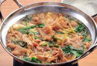 もつ鍋(味噌仕立て)