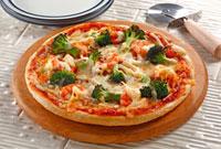 米粉で作ったピザ