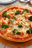 米粉で作ったピザ 10323002197| 写真素材・ストックフォト・画像・イラスト素材|アマナイメージズ