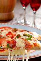 米粉で作ったピザ 10323002202| 写真素材・ストックフォト・画像・イラスト素材|アマナイメージズ