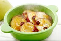 シリコンスチーマーで調理したさつまいものオレンジ煮 10323002264| 写真素材・ストックフォト・画像・イラスト素材|アマナイメージズ