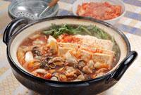 キムチ鍋(牡蠣)