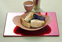 賀茂なすの漬物 10323002501  写真素材・ストックフォト・画像・イラスト素材 アマナイメージズ