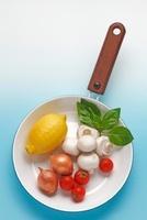 野菜とフライパン