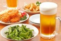 ビールとおつまみ