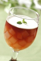 ナタデココ紅茶ゼリー