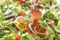 野菜サラダ(オーロラドレッシング)