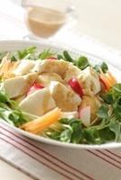 豆腐サラダ 10323004238| 写真素材・ストックフォト・画像・イラスト素材|アマナイメージズ