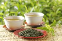 緑茶 10323005283  写真素材・ストックフォト・画像・イラスト素材 アマナイメージズ