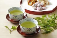 日本茶とお菓子